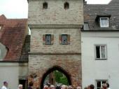 Der Bäcker-Turm war im Mittelalter einer der Zugänge in die Stadt.