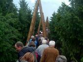 Das nächste Ziel war der Baumkronenweg in Kopfing. Rund 1 km lang kann man auf Höhe der Baumkronen oder auch darüber den Wald bewundern.