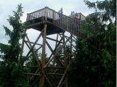 Viele Festmeter Holz wurden hier verbaut. Die Konstruktionen sind teilweise gigantisch.
