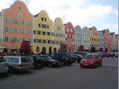 Die obere Altstadt von Schärding ist traumhaft schön und spiegelt das barocke Flair der gesamten Stadt wieder.