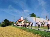 1994 war das Bergfest verbunden mit der Standartenweihe der Grenzlandschützen. Viele Vereine aus der Umgebung gaben dem Verein die Ehre ihres Besuchs und bereicherten dadurch das Fest. Die Böllerschützen aus Holzhausen (Bild) sorgten für die akustische Aufmerksamkeit.