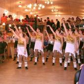 Der Auftritt der Inninger Showtanzgruppe ist einer der Höhepunkte des Abends.