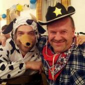 Die Kuh von Sancho Panza und der Müde Joe hatten jede Menge Spaß auf dem Kappenabend der Wambecker Schütz'n.