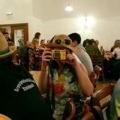 Strohhüte und Fotoapparate waren beliebte Assessors für das Motto der Grenzlandschützen. Sogar eine Unterwasser-Kamera war mit von der Partie.