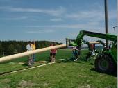 Bei 30 Metern ist ein wenig maschinelle Hilfe gerne genommen.