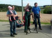 Natürlich muss der Seisenberger und der Freudi die Kamera auch einmal ausprobieren.