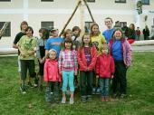 Hier ein Gruppenbild unserer fleißigen Maibaum-Aufsteller.