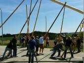 Jung und Alt – so wie wir es in Steinbach gewöhnt sind und so wie wir es immer machen. Alle helfen zusammen. Das ist unser Verein und das ist auch unsere Stärke.