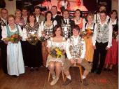 Hier das Gruppenfoto der Könige vom Altschützenball 2006 in Baierbach.