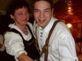 Martin und Paula hatten sichtlich Spaß auf dem Ball.