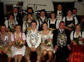 Hier das Gruppenbild der Schützenkönige des Altschützenball von 2007.