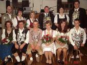 Hier das Gruppenbild der Schützenkönige des Jungschützenball von 2007.