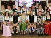 Der Schützenball der Altschützen Baierbach war auch 2015 gut besucht. Die Grenzlandschützen sind mit guten zwei Tischen vertreten gewesen und haben ihren stolzen König begleitet.