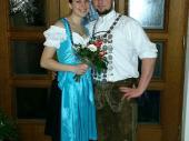 Markus hat es wieder geschafft. Nach 2011 ist er auch 2015 wieder Schützenkönig der Grenzlandschützen. Mit seiner Schützenliesl Tanja hat er uns auf dem Ball der Altschützen gut vertreten. Ein schneidiges Paar.