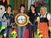 Marlene Sachs konnte die Damenscheibe für sich gewinnen.