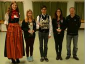 Beim Jugend-Pokalschießen im April 2015 haben sich 8 Nachwuchsschütz/innen aus Steinbach beteiligt. Ein besonderes Ergebnis ergab sich bei der Ermittlung des Jugend-Gaukönigs. Hier konnten Christin Sachs und Angela Nöscher den 2. und 3. Platz nach Steinbach bringen.