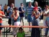 (2007) In den freien Staffeln war der Ehrgeiz zu gewinnen nicht minder groß. Irene und Christiane lieferten sich ein großartiges Duell.