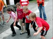 (2009) Der Vereinsnachwuchs eröffnete die erste Runde.