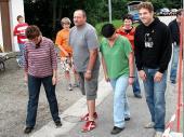 (2009) Die Vertreter der Gaumannschaften am Beginn der Staffel.