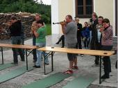 (2009) Das Gewehr ist sehr leicht und der Puls sowie die Atmung sehr hoch - da ist es nicht einfach ruhig zu halten.