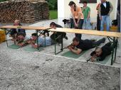 (2009) Die Ergebnisse waren sehr gut und am Ende war es sehr eng. Katrin und Jacko entschieden das Duell auf der Zielgeraden.