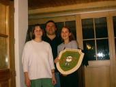 Die Standeröffnungs-Scheibe wurde 2002 von Anita Landinger gewonnen.