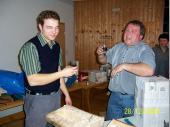 """(2006/07) """"Gibt's denn heid nix zum dringa do herin?"""" Damit haben die Beiden den Abend eingeläutet - und sie bekamen was zu trinken - immer und immer wieder. Dementsprechend sahen sie auch am Ende aus."""