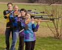 Die 1. Mannschaft im Jahr 2010. (v.l.n.r.) Martin Freudenreich, Otto Rys, Marlene Sachs und Anita Landinger.