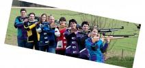 Die 1. und 2. Mannschaft im Jahr 2010. (v.l.n.r.) Ludwig Maier, Martin Freudenreich, Cilli Maier, Otto Rys, Elfriede Fürmetz, Tina Seisenberger, Marlene Sachs und Anita Landinger.