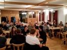 Ca. 50 Grenzlandschütz/innen wohnten der Versammlung bei. Besonders stark war die Vereinsjugend vertreten, was die Vorstandschaft ausdrücklich gefreut hat.