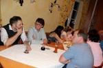 Klar war von Anfang an, im Vordergrund stand ein geselliger Abend unter Freunden. Mit Speis und Trank wurde uns der Abend beinahe noch zu kurz.