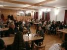 Knapp 60 Vereinsmitglieder fanden sich im Herbergslokal in Steinbach ein. Insbesondere die Jugend war hier sehr zahlreich vertreten. Dies stellte auch der Schützenmeister in den Vordergrund seiner Begrüßung.