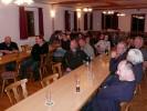 Über 40 Mitglieder verfolgten den kurzweiligen Abend in Steinbach. Der Jahresauftakt ist somit gut und fröhlich geschafft. Der Schützenmeister bedankte sich für das Engagement und die Teilnahme und beschloss den Abend mit einem Hinweis auf die nächsten Termine.